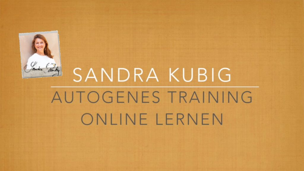 Lerne Autogenes Training Online